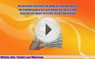 One hour Cash Loan-No credit Check-Safe and Fast