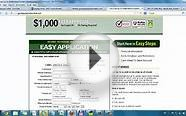 Online No Credit Check Payday Loans Direct Lenders