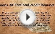 Online Personal Loans For People With Bad Credit - No Bank