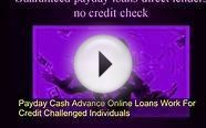 Payday cash advance Online Loans work for credit