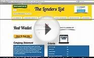 Payday Loan Direct Lenders from The Lenders List
