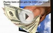 Payday Loans Online Get $2500 In Hour!