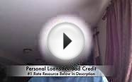 Personal Loans For Bad Credit Fast Approval Online
