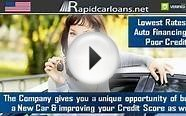 Poor Credit Auto Loans for New Vehicles : Buy a New Car at