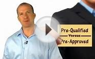 Pre Qualified vs Pre Approved, Mortgage Loans with Chris
