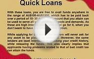 Quick loans same day