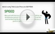 Salt Lake City Title Loan Pros | 877-916-2863