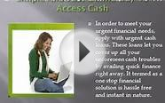 Same Day Cash Loans- Need Quick Loans- Urgent Cash Needed