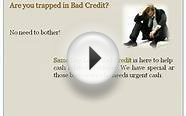 Same Day Loans Bad Credit – Short Term Loans - Instant