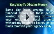 Same Day Loans Give a Full Support of Immediate Money With
