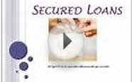 Secured Loans: Cheapest Loan Option