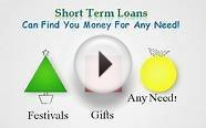 Short Term Cash Loans- Cash support that can be ideal in