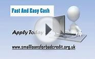 Simple Online Processing For Small Loans For Bad Credit