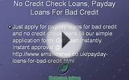 Small Loans No Credit Check- Instant Small Loans- Short