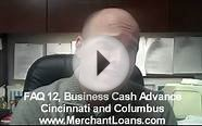Tip 12, Business Cash Advance in Cincinnati and Columbus