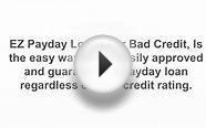 UK Payday Loans For Bad Credit