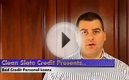 Unsecured Personal Loan Fix Your Credit Rating