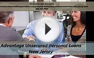 Unsecured Personal Loan New Jersey