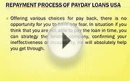 USA Payday Loans - A Great Life Saver In Financial Crisis