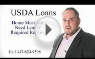 USDA Loans In Calvert County Maryland | No Money Down
