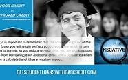 Using Credit Repair for Student Loans with Bad Credit