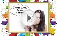 Weekend Cash Loans- Easy Online Cash Support Available