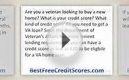 What does your credit score have to be to get a VA loan?